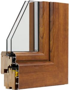 Infissi legno alluminio porte blindate e finestre for Un telaio interno